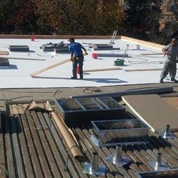 Business owners, Flat Roof Repair.