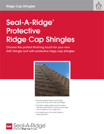 Seal-A-Ridge Sell Sheet