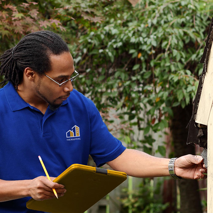 Inspecting shingles