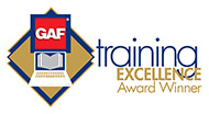 GAF Training Excellence Award Winner